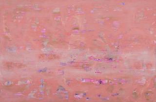 El camino IV, óleo 200 x 130 cm