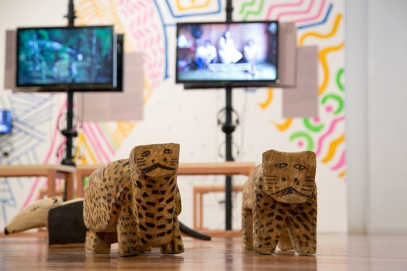 Exposición Dja Guatá Porã - Cortesía Museo de Arte de Rio de Janeiro