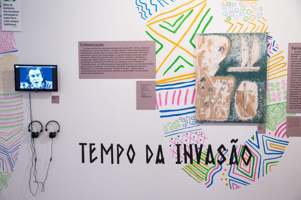 Tiempo de la Invasión - Cortesía Museo de Arte de Rio de Janeiro