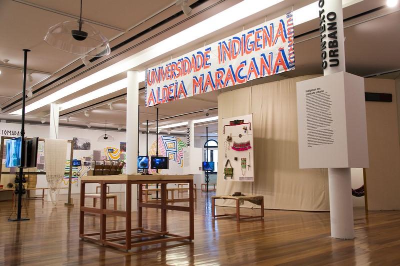 Univerisdad Indígena de Maracanã - Cortesía Museo de Arte de Rio de Janeiro