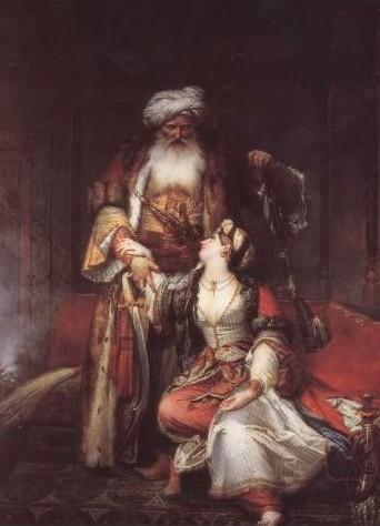 Monvoisin, Alí Bajar Visir de Janina (1832)