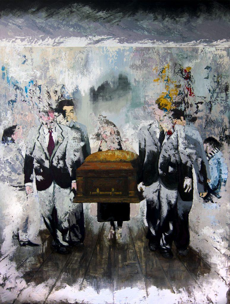 Joaquin Reyes, Pintura 31. Acrilico sobre tela. 2017 100 x 80 cm