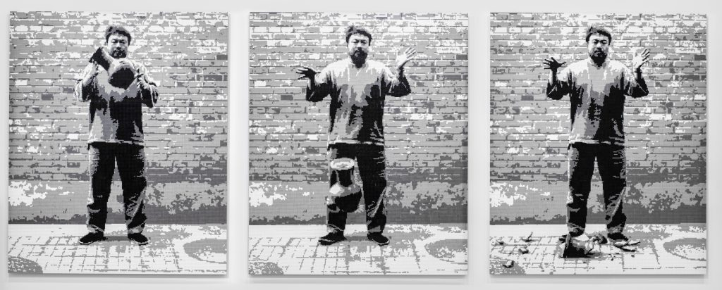 Dropping a Han Dynasty Urn, 2015. Crédito_ Courtesy of Ai Weiwei Studio