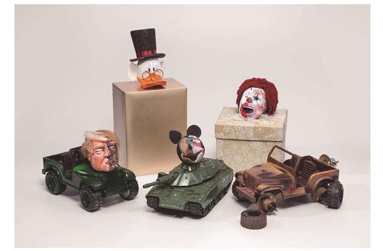 Disney Trump, Maquiamelo, representado por DC Gallery