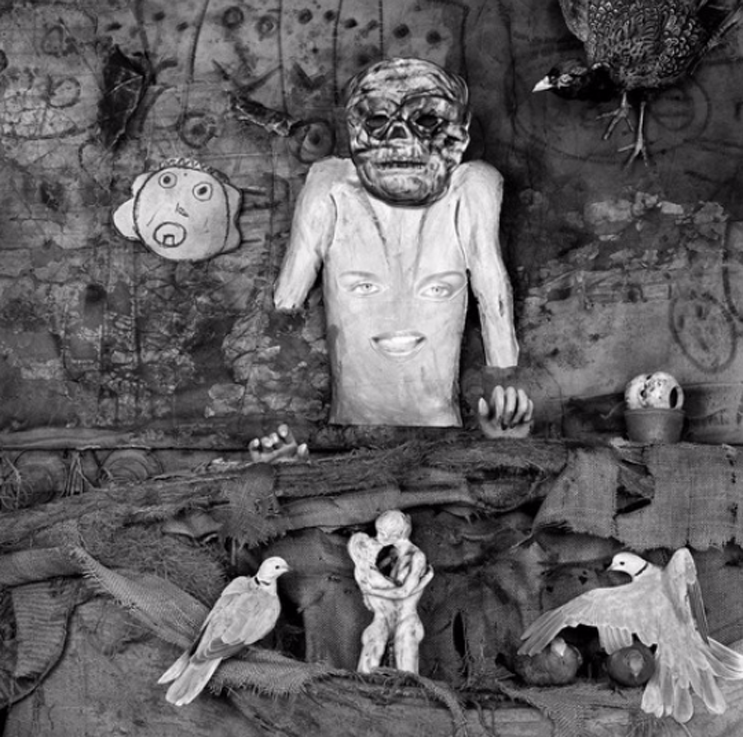 Roger Ballen, Love Scene (Asylum of the Birds series), 2010