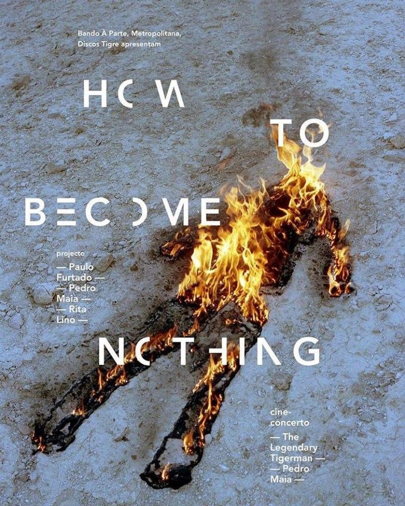 Rita Lino, cartel de How to become nothing