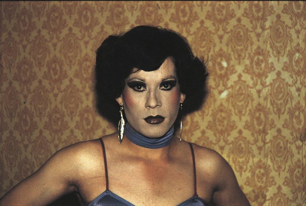 """De la serie La Manzana de Adán, """"La Palmera"""", Evelyn, 1983."""