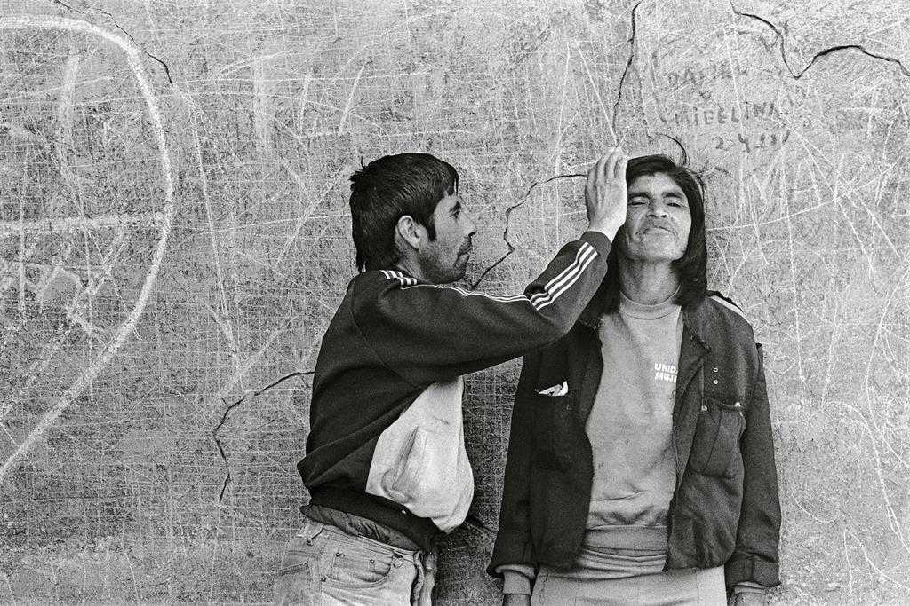 """De la serie El infarto del alma, """"Infarto 30"""", Putaendo, 1994."""