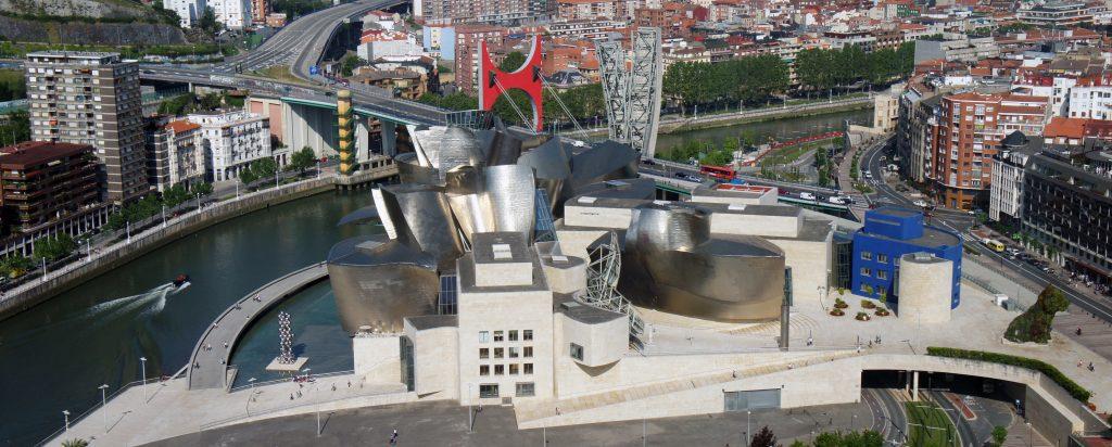 Vista Panorámica Museo Guggenheim Bilbao