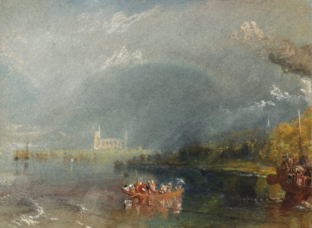 Jumièges, ca. 1832, JMW Turner (1775 - 1851) © Tate, London 2019