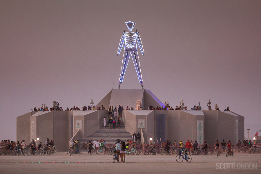 Scott London, Burning Man Project, 2018