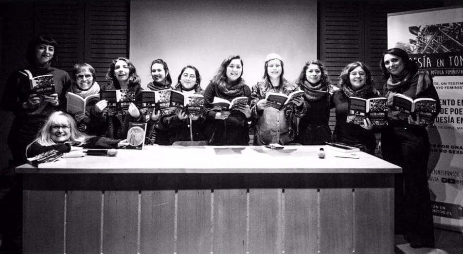 Lanzamiento Poesía en Toma en Casa Colorada, foto @Ciudad Delospinos