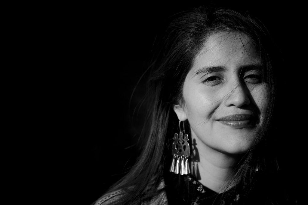 Daniela Catrileo. Foto ©Alvaro de la Fuente/Proyecto Dialogo
