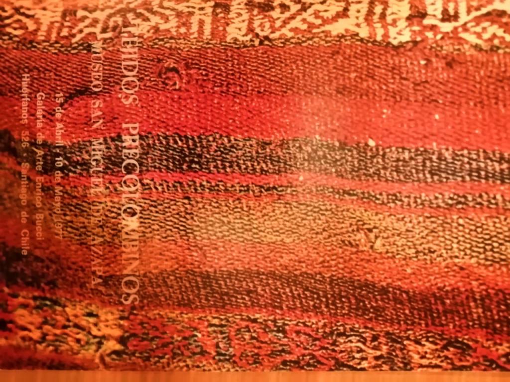 Catálogo Exposición Tejidos precolombinos del Museo San Miguel de Azapa