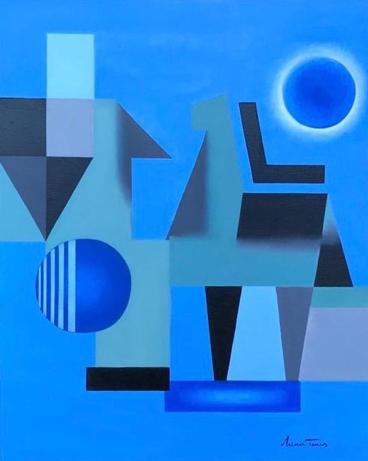 Instinto, Nina Torres. Óleo sobre tela. 2019. 50x40 cm