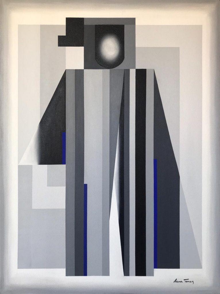 Ilustre, Nina Torres, óleo sobre lino. 2020, 80x60 cm
